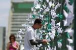 Arena Condá é palco de homenagens à Chapecoense
