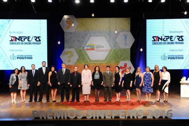 Sinepe/RS premia melhores projetos do ensino privado em 2016 Divulgação/Divulgação