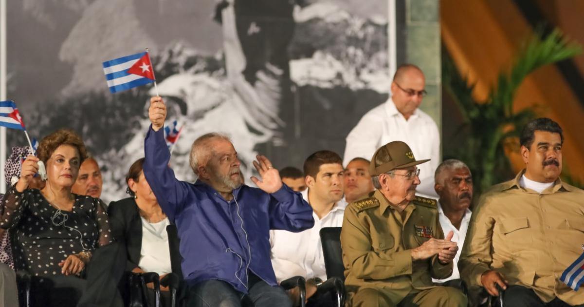 Lula e Dilma participam de funeral de Fidel em Cuba Ricardo Stuckert / Instituto Lula/Instituto Lula