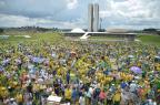Manifestantes se reúnem na Esplanada dos Ministérios Marcello Casal Jr/Agência Brasil