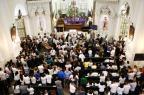 Em Florianópolis, cerimônia lota a catedral na última homenagem aos cinco profissionais da RBS Leo Munhoz/Agencia RBS