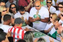CBF define homenagens para a Chape na final da Copa do Brasil MARLON COSTA/Agencia RBS