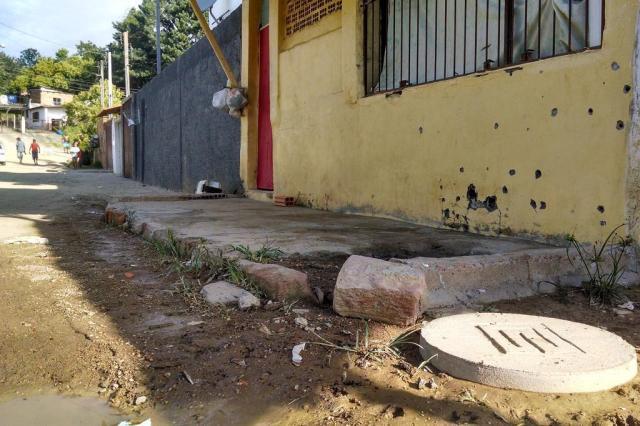 Três pessoas são executadas no bairro Santa Cecília, em Viamão Marcelo Kervalt/Agencia RBS