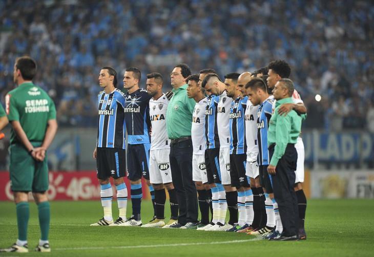 2b15cc0121c10 Grêmio empata com o Atlético-MG e é pentacampeão da Copa do Brasil - Diário  Catarinense - Diário Catarinense