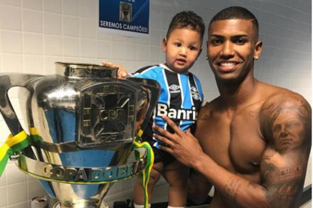 Grêmio sente a falta de Walace Reprodução / Instagram/Instagram