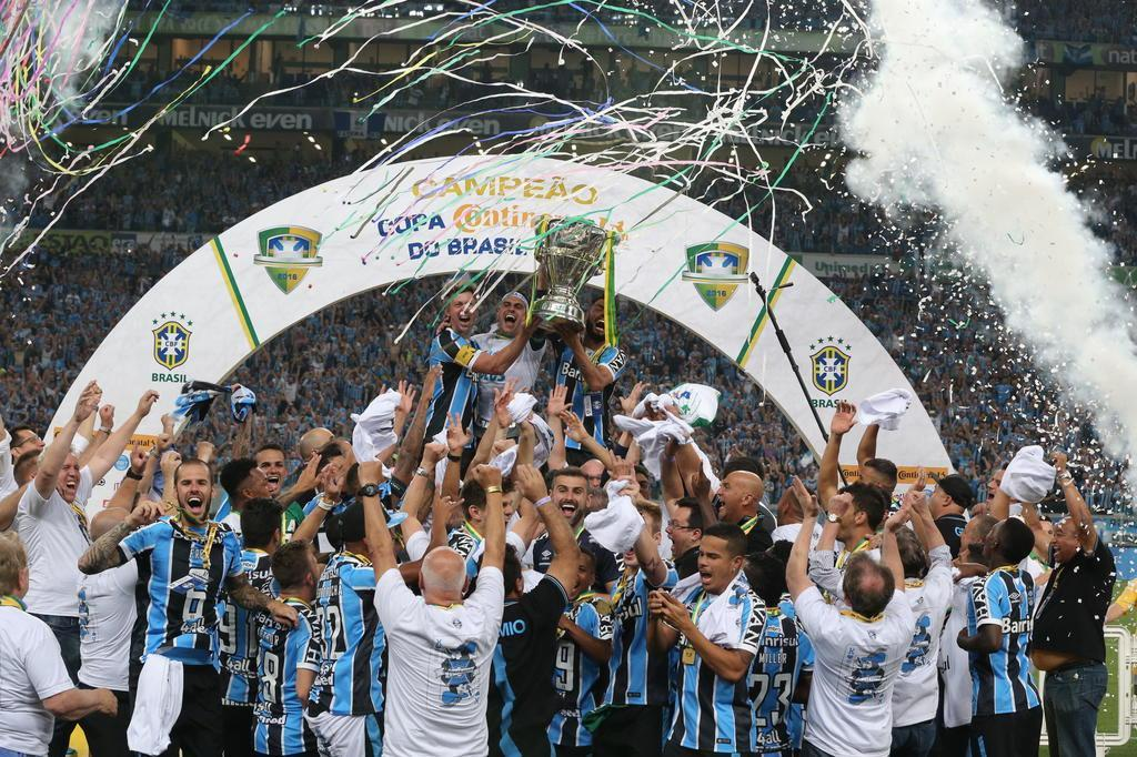 Sorte, mas também azar do Grêmio na fase de grupos da Libertadores Fernando Gomes/Agencia RBS
