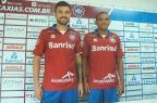 Lateral-esquerdo Márcio Goiano e volante Marabá são apresentados oficialmente pelo Caxias Rafael Tomé / Caxias, Divulgação/Caxias, Divulgação