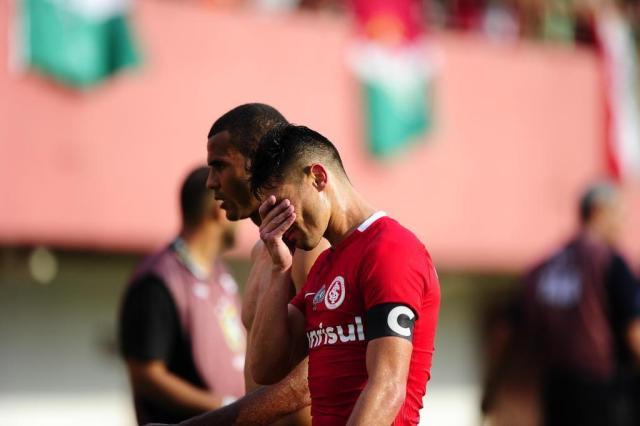 Inter empata com o Fluminense e está rebaixado para a Série B do Brasileirão Bruno Alencastro/Agencia RBS