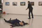 Presidente turco diz que assassino de embaixador russo pertencia à rede de Gülen YAVUZ ALATAN / SOZCU DAILY /AFP