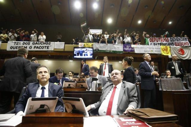 Piratini desiste de convocação extraordinária para votação do pacote Camila Domingues/Agencia RBS