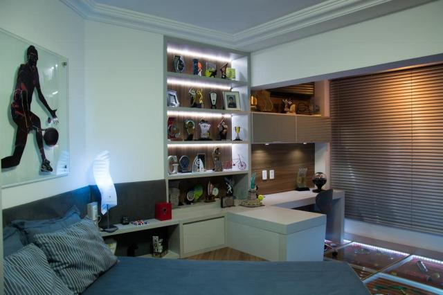 Projeto de reforma com piso de vidro com saibro para quarto de tenista Carlos Edler/Divulgação