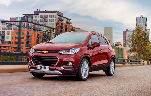 Novo Chevrolet Tracker, primeiro lançamento de 2017 General Motors, DV/