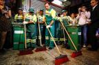 Vestido de gari, prefeito de São Paulo diz que vai limpar a cidade toda semana ALE VIANNA/ELEVEN/Estadão Conteúdo