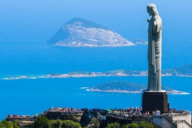 (Eterno) cartão-postal do Rio: uma vista do Cristo Redentor Bruno Alencastro/