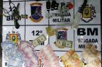 BM apreende R$ 1,3 mil e câmeras de segurança durante flagrante de tráfico em Caxias Brigada Militar / Divulgação/Divulgação