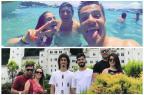 Como e onde os jogadores de Grêmio e Inter começaram 2017 Reprodução / Instagram/Instagram