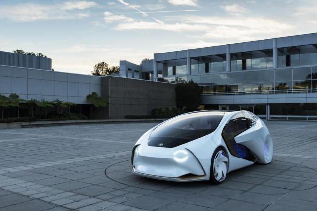 Toyota mostra carro que interage com condutor e outros veículos Divulgação/Toyota