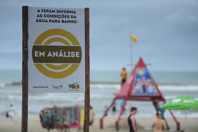 Rio Grande do Sul tem oito pontos impróprios para banho, diz Fepam Félix Zucco / Agência RBS/Agência RBS
