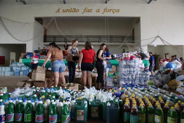 Após corrente de solidariedade, afetados por temporal em Rolante não precisam de mais doações Tadeu Vilani/Agência RBS