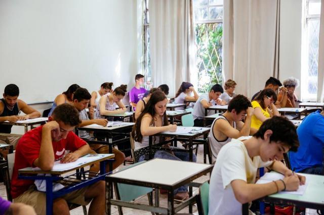 Vestibular da Ufrgs começa com provas de Física, Literatura e Língua Estrangeira Omar Freitas/Agencia RBS