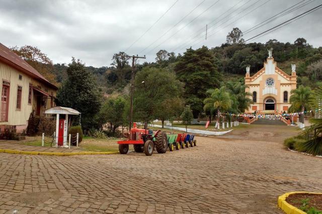 Passeio em vilarejo de Casca, no norte gaúcho, remete ao passado Marciano Giuriatti/Divulgação