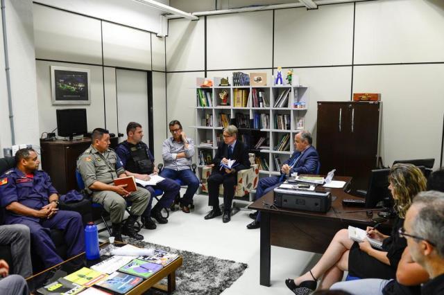 Secretário de Segurança anuncia força-tarefa permanente na Estação Férrea de Caxias do Sul Petter Campagna Kunrath/divulgação