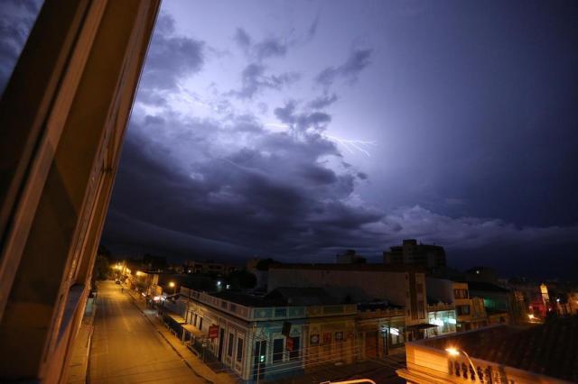 Chuva, temporal e instabilidade no clima continuam em Pelotas até o final de semana Jefferson Botega/Agência RBS