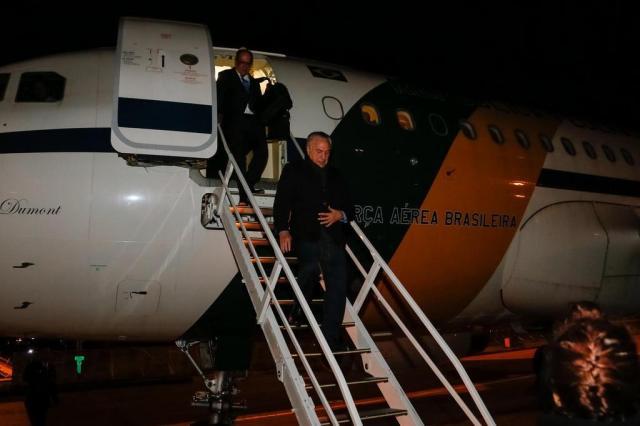 Michel Temer desembarca em Portugal para participar do funeral de Mário Soares Isac Nóbrega / Palácio do Planalto/Divulgação