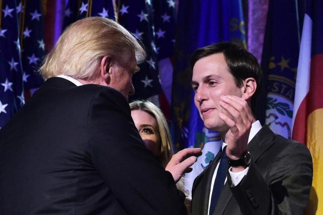 Nomeação do genro de Trump para Casa Branca gera polêmica sobre nepotismo nos EUA MANDEL NGAN/AFP