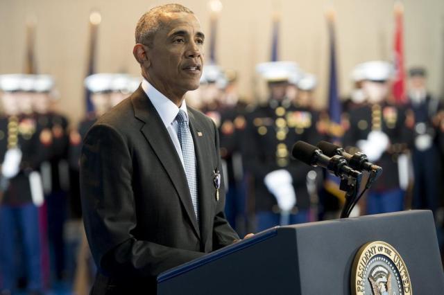 Em discurso, Obama se despedirá dos americanos após oito anos à frente da Casa Branca SAUL LOEB/AFP