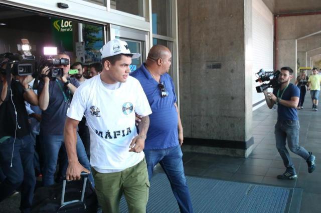 Grêmio aguarda por resultado de exame para definir contratação de Gabriel Fernández Tadeu Vilani/Agencia RBS