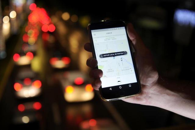 Relatos de violência fazem passageiros evitarem Uber em São Paulo Maykon Lammerhirt/Agencia RBS