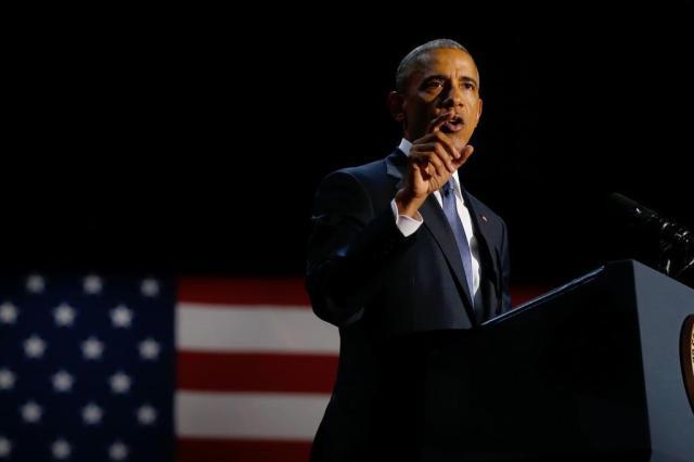 Em seu último discurso, Obama exalta diversidade e diz que racismo é uma ameaça à democracia Jonathan Ernst/REUTERS