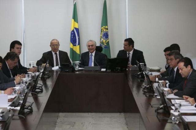 """Temer afirma que governo está no """"caminho certo"""" no combate à inflação José Cruz/Agência Brasil"""