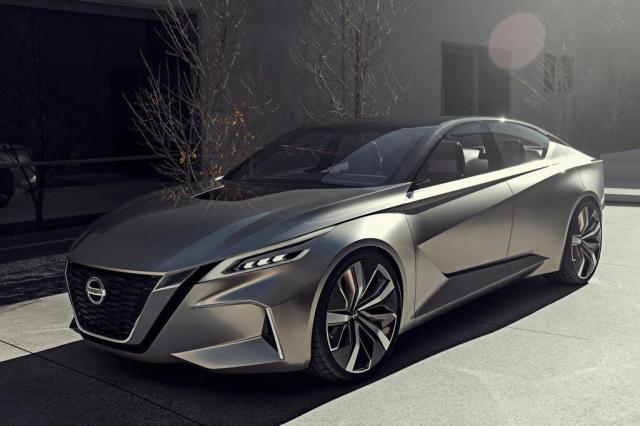 Vmotion 2.0 mostra o que a Nissan trará em seus futuros sedãs Divulgação/Nissan