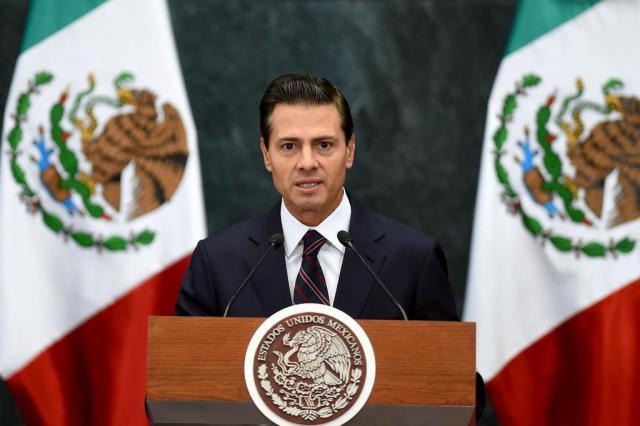México não pagará por muro na fronteira com os Estados Unidos, diz Peña Nieto ALFREDO ESTRELLA/AFP
