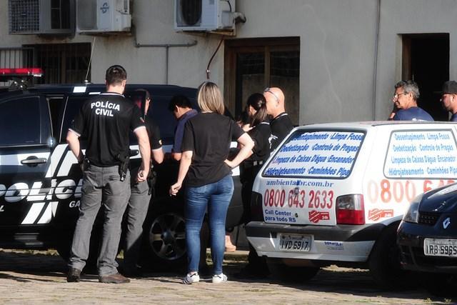 Polícia faz operação contraempresa terceirizada do DEP Ronaldo Bernardi / Agência RBS/Agência RBS