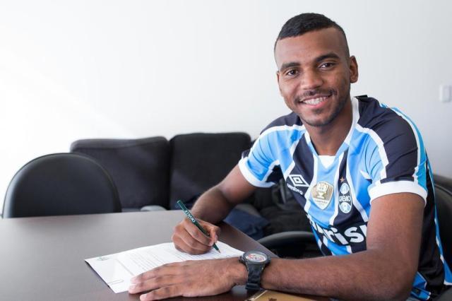 Grêmio oficializa contratação do lateral Leonardo Gomes Luciano Amoretti/Grêmio,Divulgação