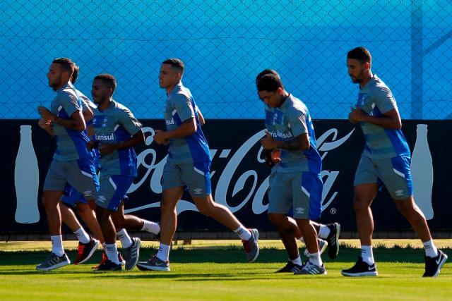 Volante Michel será apresentado nesta sexta-feira no Grêmio Lucas Uebel / Grêmio/Grêmio