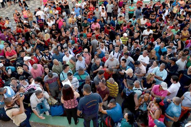 Obama põe fim à política que previa cidadania automática a imigrantes cubanos CARLOS GONZALEZ/AFP