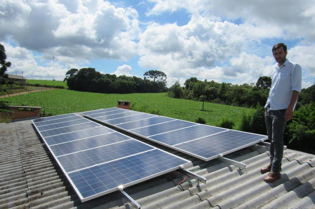 Energia solar como aliada da agricultura Carmo Amorim/Especial