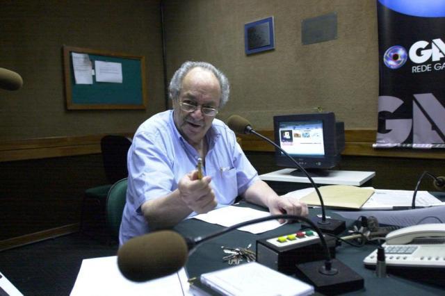 Morre, aos 89 anos, o jornalista e radialista Jayme Copstein Luiz Armando Vaz/Agencia RBS