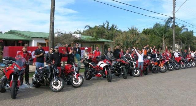 Ducatistas se reúnem neste sábado em Atlântida, no Litoral Norte Arquivo pessoal/Divulgação