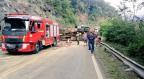 Caminhão tomba e motorista morre na ERS-122, em Flores da Cunha Comando Rodoviário da Brigada Militar/Divulgação