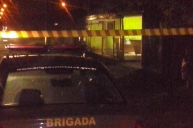 Chacina em bar de São Leopoldo pode ser disputa de facções do tráfico Divulgação/Brigada Militar