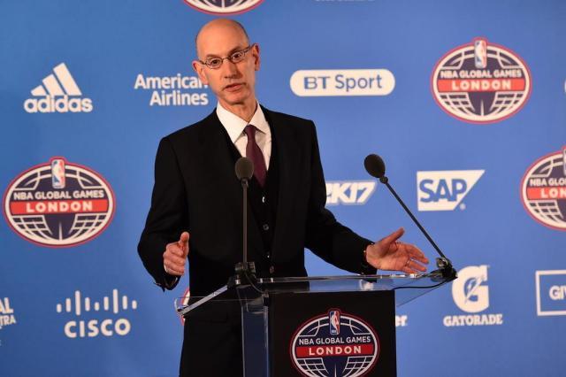 Comissário admite chance de time da NBA na Cidade do México Glyn Kirk/AFP