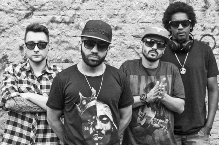 """Os rappers da Osirys já estão gravando o álbum """"Vida"""" Gabriel Boizinho/Divulgação"""