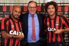 Atlético-PR apresenta Jonathan e Felipe Gedoz Fabio Wosniak/Site Oficial do Atlético-PR/Fabio Wosniak/Site Oficial do Atlético-PR