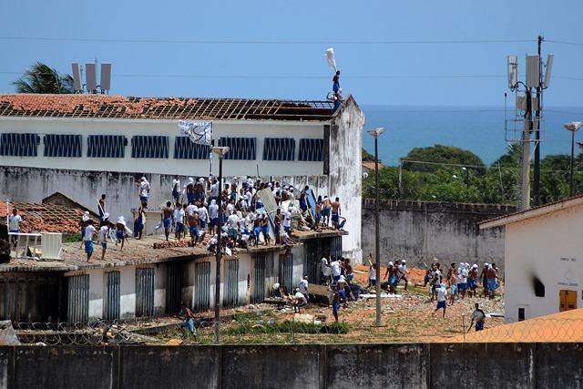 Um mês após rebelião em Alcaçuz, governo não sabe quantos fugiram ou morreram Foto: FRANKIE MARCONE/FUTURA PRESS/ESTAD¿?O CONTE¿?DO/