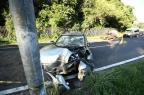 Mulher morre e três pessoas ficam feridas em acidente na ERS-040 (Carlos Macedo/Agencia RBS)